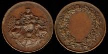 World Coins - 1877 France – Agricultural Award Medal.
