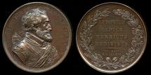World Coins - 1814  France - Restoration of the Bourbon reign in France by Jean-Pierre Droz.