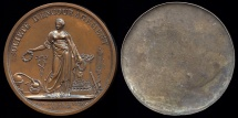 World Coins - 1802  France - Napoleon - Societe d'Encouragement by Pierre-Joseph Tiolier - A cliché of the medal