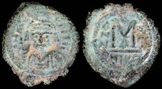 Ancient Coins - Justinian I Follis - Nicomedia Mint