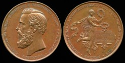 World Coins - 1874 Germany – International Agricultural Exhibition in Bremen