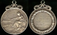 World Coins - 1903 Germany – Racing Prize Medal