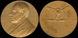 Us Coins - 1917 Woodrow Wilson - US Mint Medal
