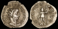 Ancient Coins - Gallienus Antoninianus - VIRTVS AVGG - Rome Mint