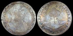 World Coins - 1830 PTS-JL Bolivia 4 Soles AU (Double Mintmark)