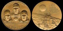 Us Coins - 1969 US: Apollo 11 Commemorative Medal