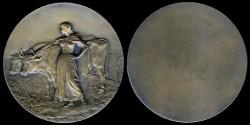 World Coins - 1898 France - Agricultural Prize Medal