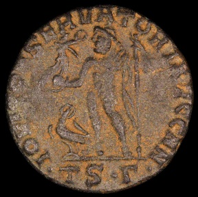 Ancient Coins - Licinius I Follis - IOVI CONSERVATORI AVGG NN - Thessalonica Mint