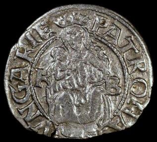 World Coins - 1551 KB Hungary 1 Denar - Ferdinand I - AU Silver