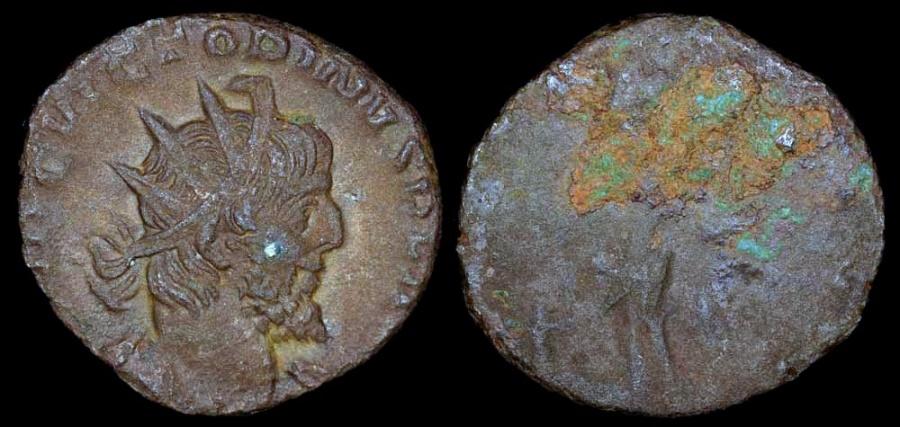 Ancient Coins - Victorinus Antoninianus - UNKNOWN VARIETY - Unknown Mint