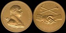 1857 Martin Van Buren - US Mint Medal