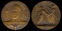 World Coins - 1911 France - America Joins the Allies by René Grégoire