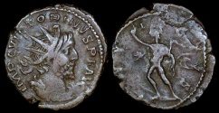Ancient Coins - Victorinus Antoninianus - INVICTVS - Cologne Mint
