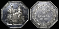 World Coins - 1799 France - Jeton - Bank of France Year VIII by Rambert Dumarest