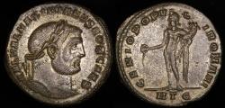 Ancient Coins - Galerius Follis - GENIO POPVLI ROMANI - Heraclea Mint