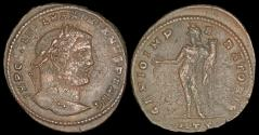 Ancient Coins - Galerius Follis - GENIO IMPERATORIS - Heraclea Mint
