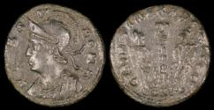 Ancient Coins - Constantine I Centenionalis - GLORIA EXERCITVS - Constantinople Mint