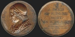 World Coins - 1817 France - Antoine Arnauld by Alexis Joseph Depaulis