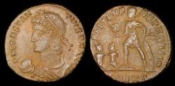 Ancient Coins - Constantius II Centenionalis - FEL TEMP REPARATIO - Cyzicus Mint