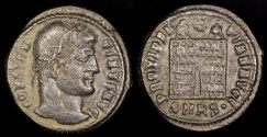Ancient Coins - Constantine I Ae3 - PROVIDENTIAE AVGG - Cyzicus Mint