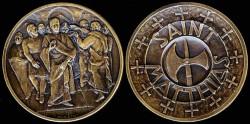 World Coins - 1972 US: Saint Mathias the Apostle
