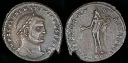 Ancient Coins - Galerius Ae Follis - GENIO IMPERATORIS - Heraclea Mint