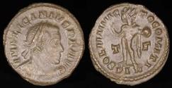 Ancient Coins - Licinius I Follis - SOLI INVICTO COMITI - London Mint