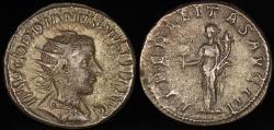 Ancient Coins - Gordian III Antoninianus - LIBERALITAS AVG III - Rome Mint