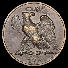World Coins - 1801 France - Napoleon - The Imperial Seal by Jean-Bertrand Andrieu, Louis Jaley and Dominique-Vivant Denon