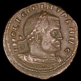 Ancient Coins - Licinius I Follis - SOLI INVICTO COMITI - Rome Mint