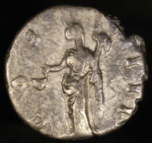 Ancient Coins - Antoninus Pius Denarius - COS IIII - Rome Mint