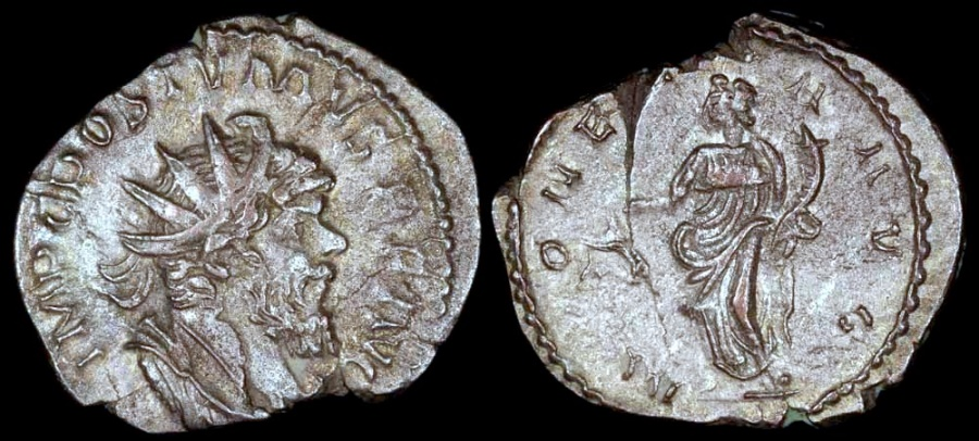 Ancient Coins - Postumus Antoninianus - MONETA AVG - Cologne Mint