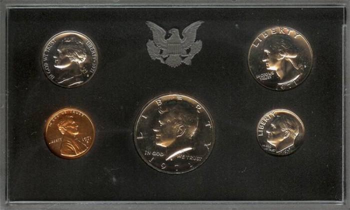 US Coins - 1971 US Proof Set