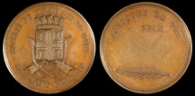 World Coins - 1870 France - Clermont-Ferrand, Puy-De-Dome Shooting Society Constest Award Medal