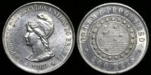World Coins - 1889 Brazil 500 Reis UNC