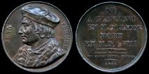 World Coins - 1817 France - Jean Franois Fernel (French physician that reformed, systematized, and reorganized Renaissance medicine) by Alexis Joseph Depaulis