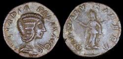 Ancient Coins - Julia Domna Denarius - DIANA LVCIFERA - Rome Mint