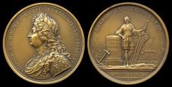 World Coins - 1680  France - Louis XIV - Conscription of 60,000 sailors by Michel Molart