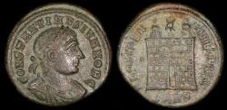 Ancient Coins - Constantine II Ae3 - PROVIDENTIAE CAESS - Nicomedia Mint