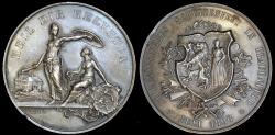 World Coins - 1890 Switzerland - Thurgau Shooting Festival at Frauenfeld