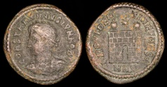 Ancient Coins - Constantine II Ae3 - PROVIDENTIAE CAES - Nicomedia Mint