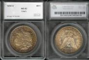 Us Coins - 1878s Morgan Dollar SEGS MS62