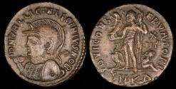 Ancient Coins - Licinius II Ae3 - IOVI CONSERVATORI - Cyzicus Mint