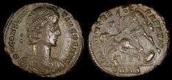 Ancient Coins - Constantius II Centenionalis - FEL TEMP REPARATIO - Heraclea Mint
