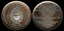 World Coins - 1893 Argentina – Inauguration of Juvenile Hall for Boys