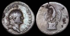 Ancient Coins - Vespasian Denarius - COS VII - Rome Mint