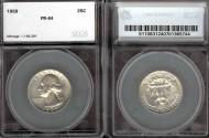 Us Coins - 1959 Washington Quarter SEGS PR64