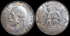 World Coins - 1927 Great Britain 1 Shilling - George V - AU