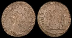 Ancient Coins - Gallienus Antoninianus - VICTORIA GERMAN - Antioch Mint