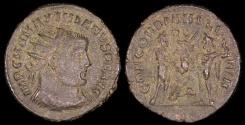 Ancient Coins - Maximianus Antoninianus - CONCORDIA MILITVM - Heraclea or Antioch Mint